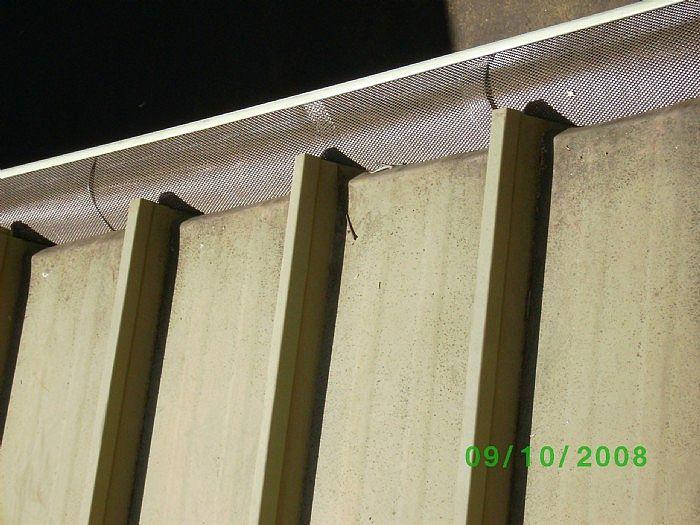 Alumaguard installed on 5-rib flat metal roof
